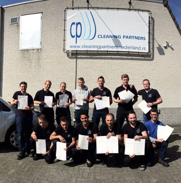 Cleaning Partners - geslaagden april 2015