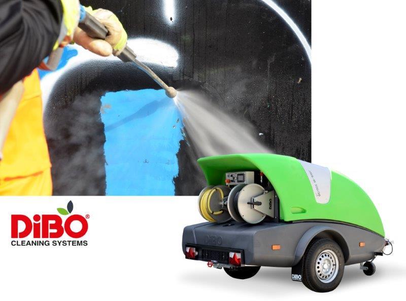 DiBO JMB-M hogedruktrailer grafittiverwijdering