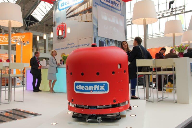 Cleanfix robot - foto Schoonmaakjournaal