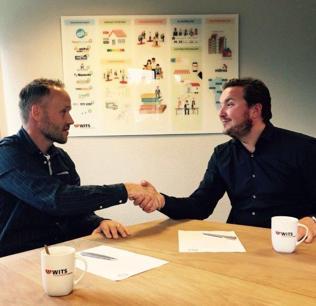 Schoonmaakjournaal Nelis Company - Wits ondertekening